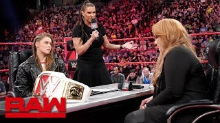 Ronda Rousey vows to take Nia Jax's arm and her title: Raw, May 21, 2018