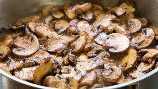 Super sauteed mushrooms