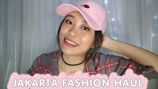 JAKARTA FASHION HAUL 2017 || FOREVER 21, BERSHKA, MINISO, COTTON ON || CHIKEZIA