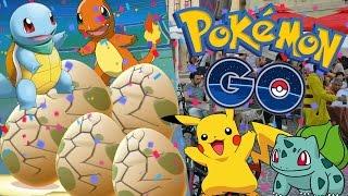 5 Eier öffnen & Neue Pokemon in Graz entdecken! • Pokemon GO deutsch