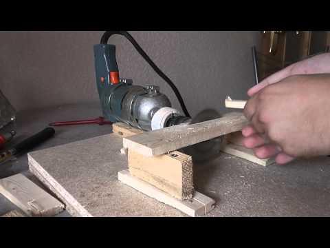 Как сделать циркулярку из дисковой пилы видео