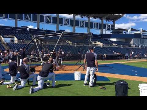 Xxx Mp4 Yankees' Aaron Judge Giancarlo Stanton BP HRs 3gp Sex