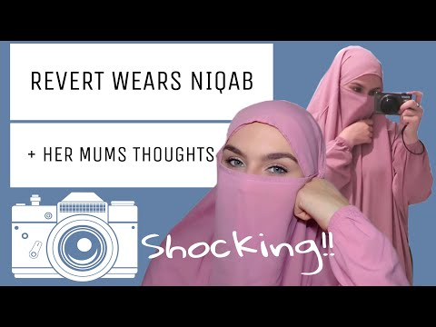 WEARING NIQAB FOR THE FIRST TIME VLOG + MUMS REACTION || Samantha J Boyle