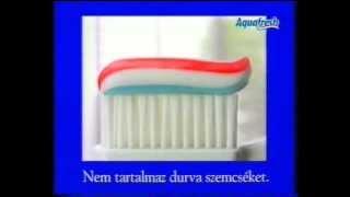 Aquafresh fogkrém reklám(régi)