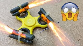 EPIC Fidget Spinner EXPERIMENT Fun Tricks with Fidget Spinner