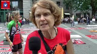 Münster: Aktionstag von Animal Rights Watch e.V. für Tierrechte und -befreiung