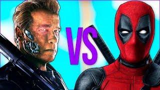 ТЕРМИНАТОР VS ДЭДПУЛ | СУПЕР РЭП БИТВА | Terminator full movie ПРОТИВ Deadpool 2 фильм