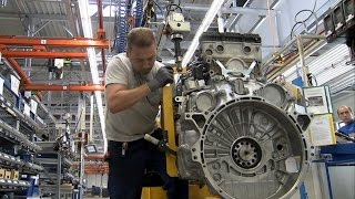 Mercedes-Benz Actros engine production at the Mannheim Plant