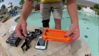 LifeProof Life Jacket! Float your iPhone! | MicBergsma