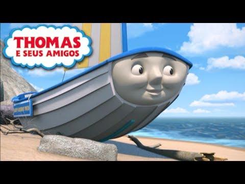 Skiff Se Perde no Mar Locomotivas Extrordinárias Thomas e Seus Amigos