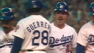 WS1981 Gm3: Ron Cey connects for a three-run home run
