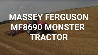 Massey Ferguson MF8690 monster tractor new