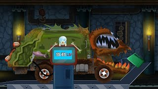 Kids TV Channel | Scary Garbage Truck Service | Cartoon Car | Videos For Children