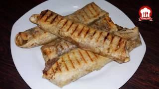 طريقة عمل لفائف المسخن أو الدجاج بالسماق - المسخن الفلسطيني من مطبخ العائلة