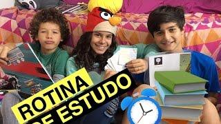 ROTINA DE ESTUDO - GABRIELLA SARAIVAH #GABINATO