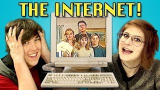 TEENS REACT TO 90s INTERNET
