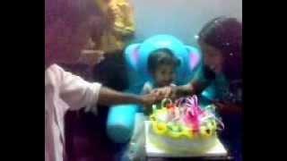 Pari's 2nd birthday.mp4 at agra