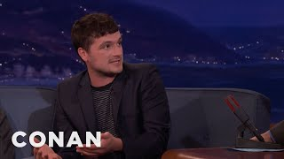 "Josh Hutcherson: James Franco Directed ""The Disaster Artist"" In Character  - CONAN on TBS"