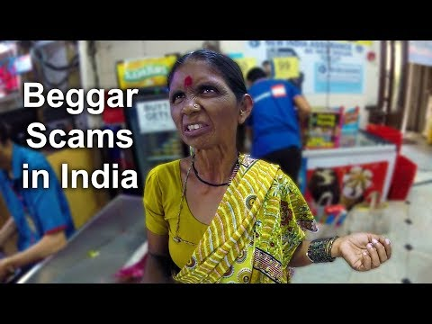 SAVED FROM A SCAMMER in India Beggar Scam Exposed
