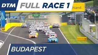 DTM Budapest 2016 - Race 1 - Re-Live (English)