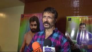 "INTERVIEW OF ACTOR SHIVA AT MUHURAT OF upcoming Hindi FILM ""Match of life"