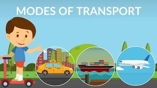 Modes of Transport   Transportation   video for kids