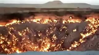 La Porte de l'Enfer brûle depuis plus de 40 ans au Turkménistan