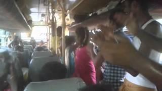 Kodumudi ( solakkalipalayam ) guys enjoying in bus