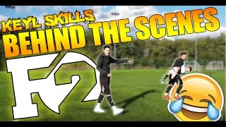 BEHIND THE SCENES WITH THE F2 FREESTYLERS | KEYL SKILLS!