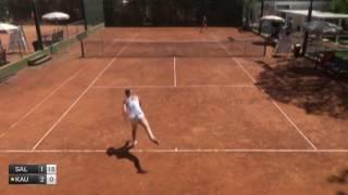 Salas Emmanuelle v Kaufinger Ina - 2017 ITF Santa Margherita Di Pula