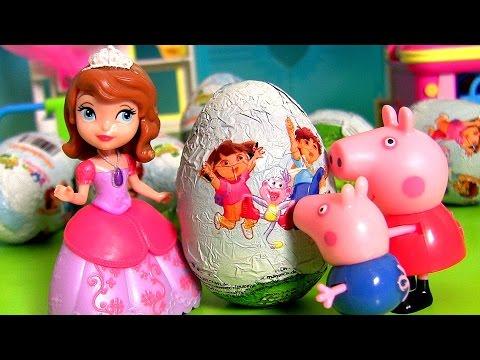 OVOS SURPRESA BR Nickelodeon Dora A Exploradora Aventureira Huevos Sorpresa em Portugues BR