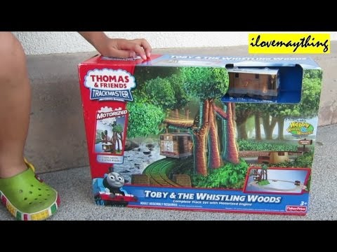 Unboxing Toby & the Whistling Woods Thomas Trackmaster Motorized Engine