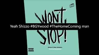 Shizzo - Won't Stop ft Ben Adolphe ( Official lyrics audio ) Prod by Davydenko 2018