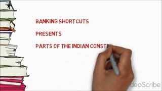How to learn 22 Parts of Indian Constitution(Shortcut trick)