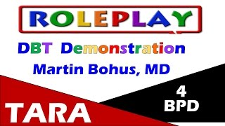 DBT Demonstration by expert Martin Bohus, MD