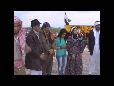 مسرحية كوندي باشوكي لفرقة زيوة للفكلور الكردي كركي لكي