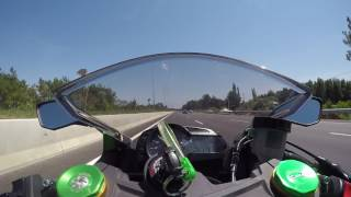 Kawasaki zx6r top speed  acceleration zx636r