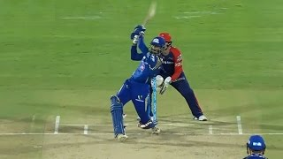 MI vs DD, IPL 2016: Mumbai Indians won by 80 runs