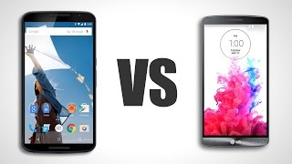 Nexus 6 Vs. LG G3