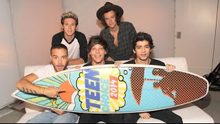 One Direction Win Big At Teen Choice Awards 2014!