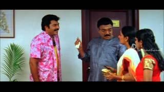 Thuruppu Gulan Malayalam Movie   Mlayalam Movie   Mammooty Meets Vijayaraghavan