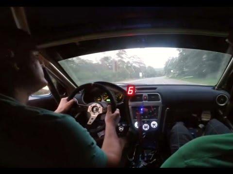Subaru Impreza STI Bugeye Sequential Gearbox TEST 2016 Brutal Shifting by ilmotoexpert s