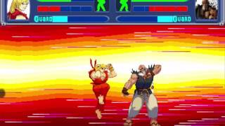Street Fighter - Legend of Ansatsuken - Walkthrough
