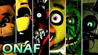 Evolution of ONAF Jumpscares (2017-2018)