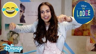 The Lodge | Hula Hoop Challenge ft Bethan Wright | Official Disney Channel UK