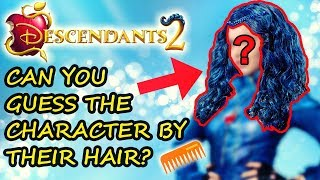 DESCENDANTS 2 🍎 Can You Guess The Cast By Their HAIR? ✂️ Born2BeViral 💈