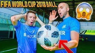 Testiamo il PALLONE dei MONDIALI - Official BALL FIFA WORLD CUP 2018