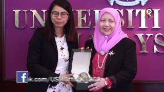 Visit by Hatyai University Delegates To Enhance Relations With USM