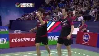2015 French Open - F - Mads Conrad Petersen/Mads Pieler Kolding vs Lee Yong Dae/Yoo Yeon Seong