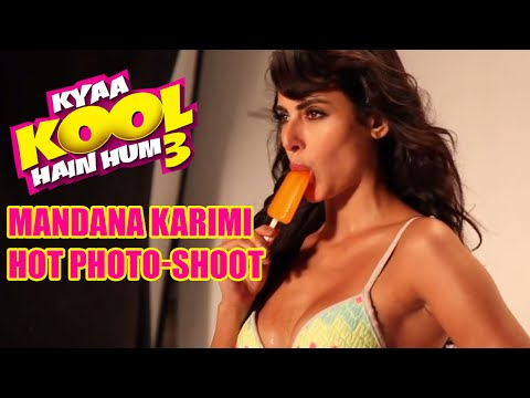 Mandana Karimi Hot Photo-shoot || Kyaa Kool Hain Hum 3
